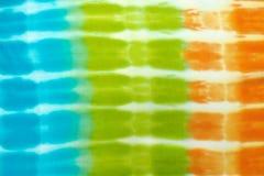 Laço-tintura da tela do borrão imagem de stock
