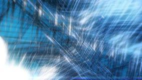 Laço video brilhante afiado do fundo do gelo 1080p de Spikey ilustração stock