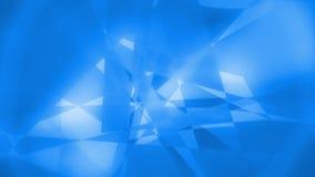 Laço video do fundo da textura geométrica abstrata de Tecrys 1080p ilustração stock