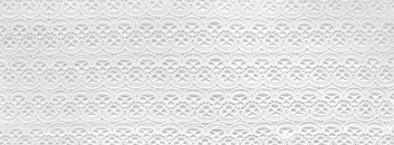 Laços brancos antigos do handwork Fotos de Stock Royalty Free