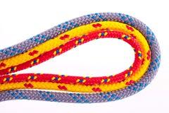 Laços coloridos da corda Foto de Stock Royalty Free