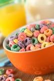 Laços coloridos do cereal Imagem de Stock Royalty Free