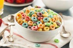 Laços do cereal do fruto de Coloful Imagens de Stock