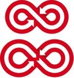 Laços infinitos Imagem de Stock