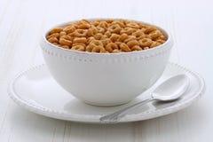 Laços inteiros do cereal do trigo Fotografia de Stock Royalty Free