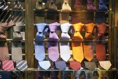 Laços na loja Imagem de Stock Royalty Free