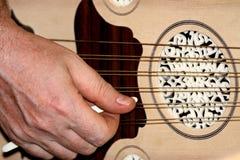 Laúd turco y árabe del instrumento Foto de archivo libre de regalías