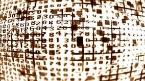Lać się dane abstrakcję 10595 Obrazy Royalty Free