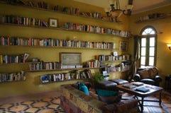 La住处的de卢尔德图书馆 库存图片