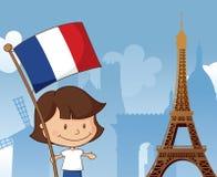 La佳丽法国 免版税库存图片