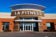LA健身 库存图片