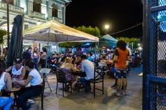 La卡尔萨达,尼加拉瓜 免版税库存图片