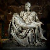 La圣母怜子图 免版税库存图片