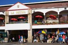La在拉塞雷纳的Recova市场霍尔,智利 免版税库存图片