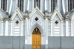 La埃尔米塔教会特写镜头 图库摄影