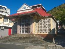 La小山市场在路易港毛里求斯 库存图片