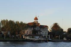 La小游艇船坞划船俱乐部 免版税库存照片