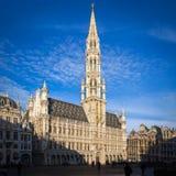 La布鲁塞尔大广场,布鲁塞尔 免版税库存图片