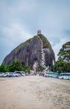 La彼德拉, Penol岩层在Guatape 免版税图库摄影