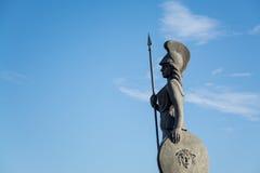 La智慧女神纪念碑在瓜达拉哈拉,墨西哥 库存照片