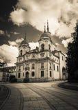 La格兰哈de圣伊尔德丰索,西班牙 免版税图库摄影