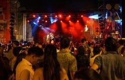 La梅尔切自由音乐会在巴塞罗那西班牙
