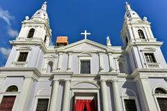 La瓜达卢佩河大教堂- Ponce,波多黎各 库存图片