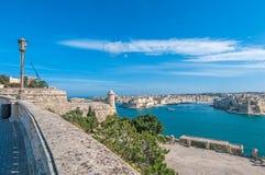 La瓦莱塔全部港口,马耳他 免版税库存图片