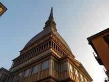 La痣Antonelliana,都灵,意大利 免版税库存图片