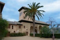 La的阿尔罕布拉宫Partal宫殿在格拉纳达,西班牙 库存照片
