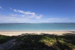 La盐海滩, La雷乌尼翁冰岛,法国 免版税库存图片