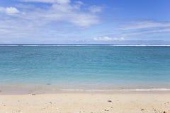 La盐海滩, La雷乌尼翁冰岛,法国 免版税图库摄影