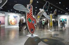 LA艺术展 免版税库存图片