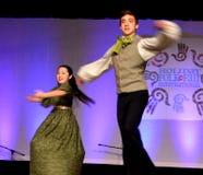 La马戏团jeunesse加拿大转动 库存照片