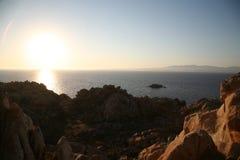 La马达莱纳半岛, Sardegna 库存图片
