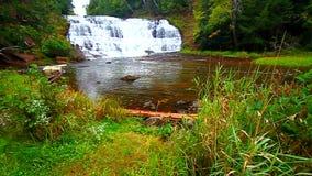 La ágata cae Michigan septentrional Foto de archivo libre de regalías