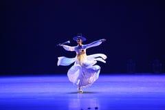 La 10ème concurrence de danse de festival d'art de la Chine, coréenne Photos libres de droits