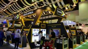 la 15ème défense entretient l'exposition 2016 de l'Asie photo libre de droits