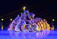 La 4ème exposition d'art d'université de la Chine Image libre de droits