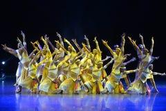 La 4ème exposition d'art d'université de la Chine Photo libre de droits