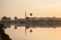 La 5ème fiesta chaude internationale de ballon à air de Putrajaya Photographie stock
