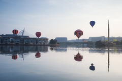La 5ème fiesta chaude internationale de ballon à air de Putrajaya Images libres de droits