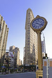La 5ème horloge iconique d'avenue à New York City Photos stock