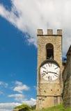La época de la fe marcada por el reloj, Casentino, Toscana Imagen de archivo