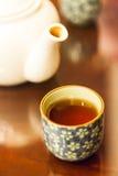 La época de la rotura de té Imagen de archivo