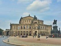 La ópera de Semper Foto de archivo libre de regalías