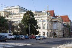 La ópera de Wroclaw Fotografía de archivo
