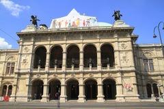 La ópera del estado de Viena fotografía de archivo libre de regalías