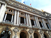 La ópera Garnier imágenes de archivo libres de regalías