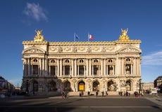 La ópera Garnier, París imágenes de archivo libres de regalías